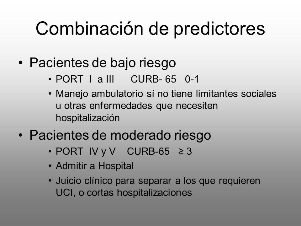 Combinación de predictores