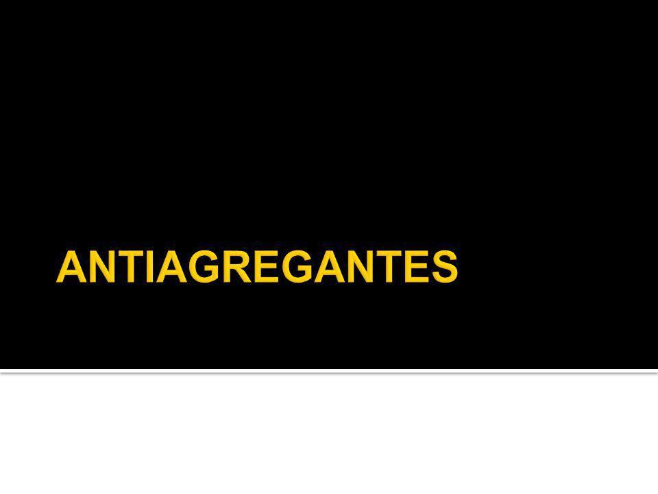 ANTIAGREGANTES