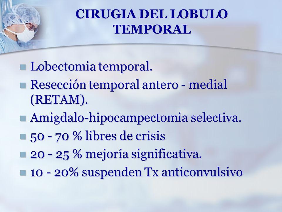 CIRUGIA DEL LOBULO TEMPORAL