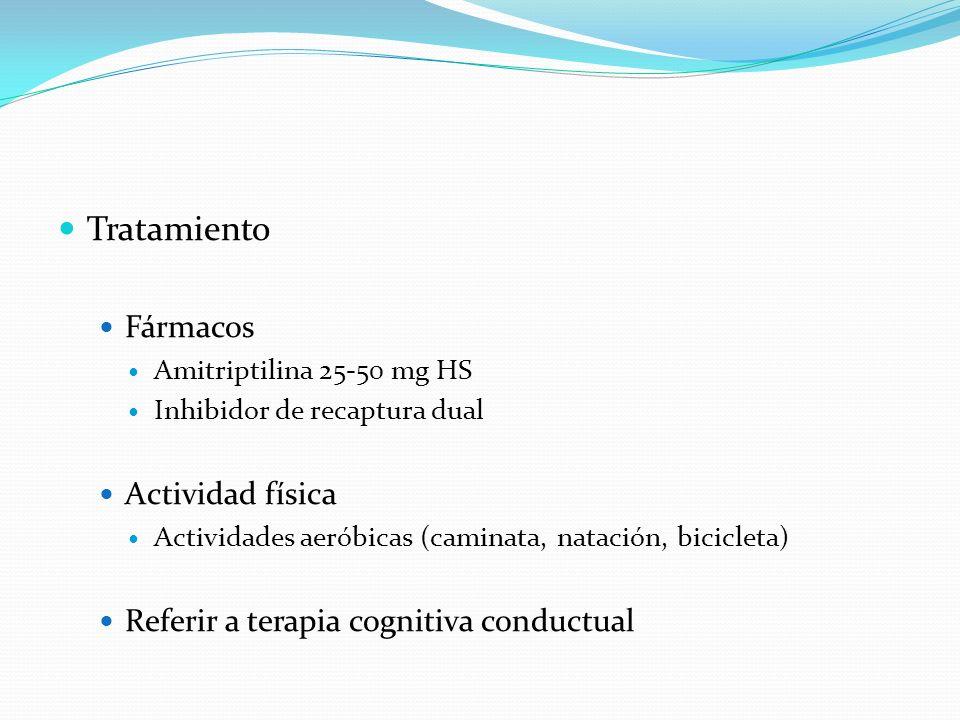 Tratamiento Fármacos Actividad física