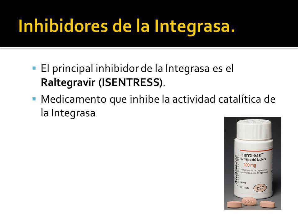 Inhibidores de la Integrasa.