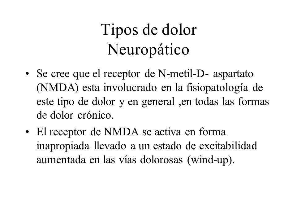 Tipos de dolor Neuropático
