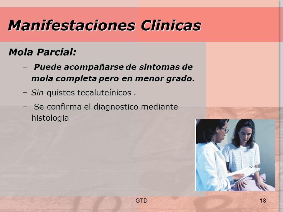 Manifestaciones Clinicas