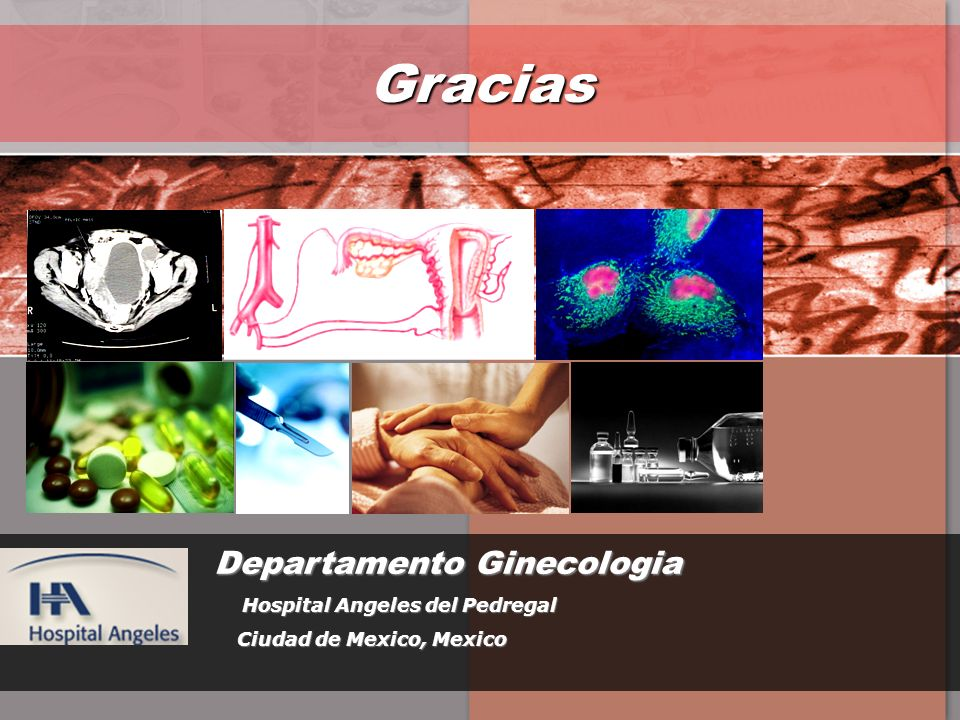Gracias Departamento Ginecologia Hospital Angeles del Pedregal