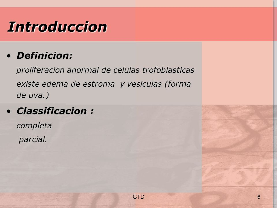 Introduccion Definicion: Classificacion :