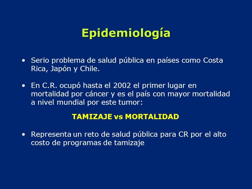 Epidemiología Serio problema de salud pública en países como Costa Rica, Japón y Chile.