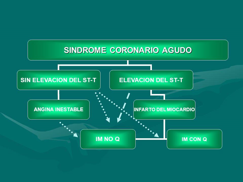 SINDROME CORONARIO AGUDO