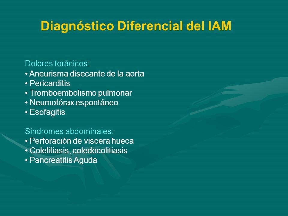 Diagnóstico Diferencial del IAM