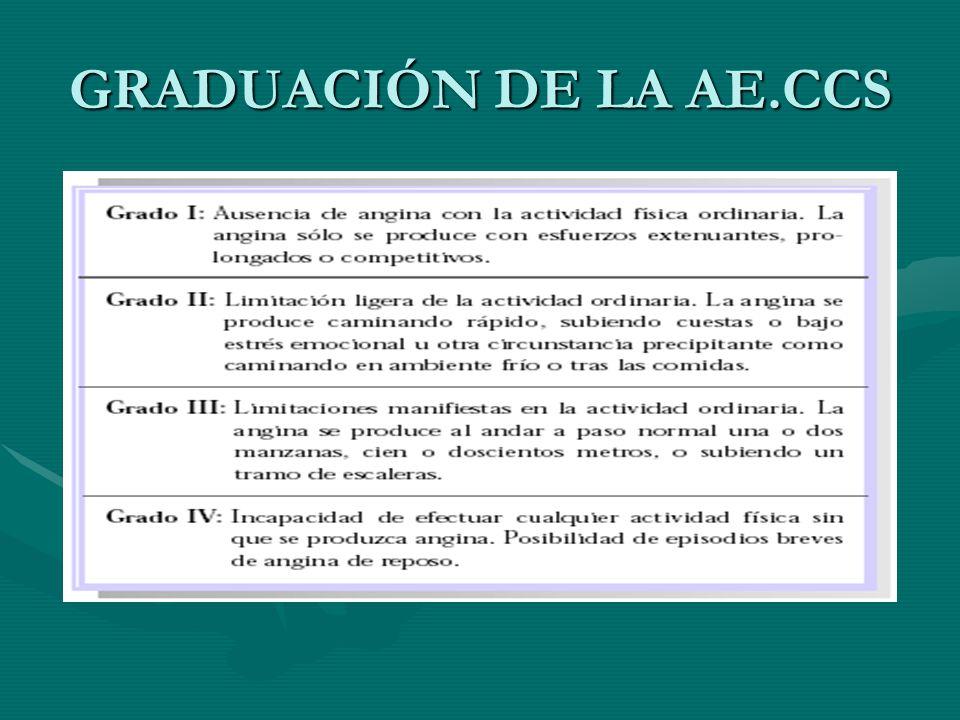 GRADUACIÓN DE LA AE.CCS