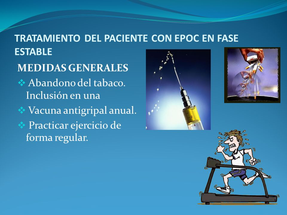 TRATAMIENTO DEL PACIENTE CON EPOC EN FASE ESTABLE