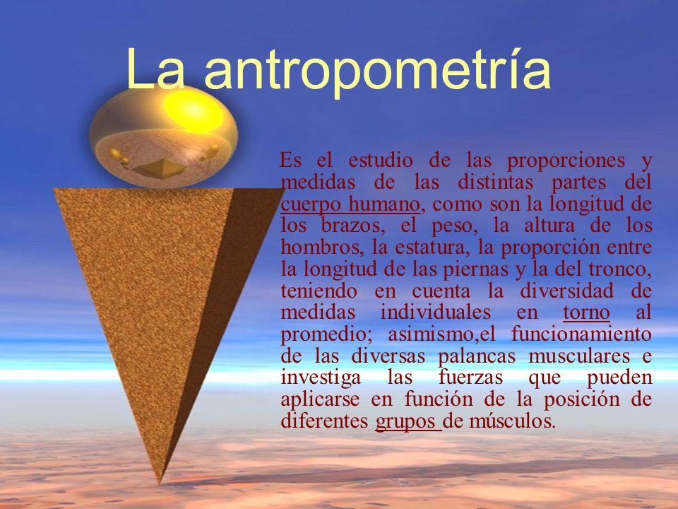 La antropometría
