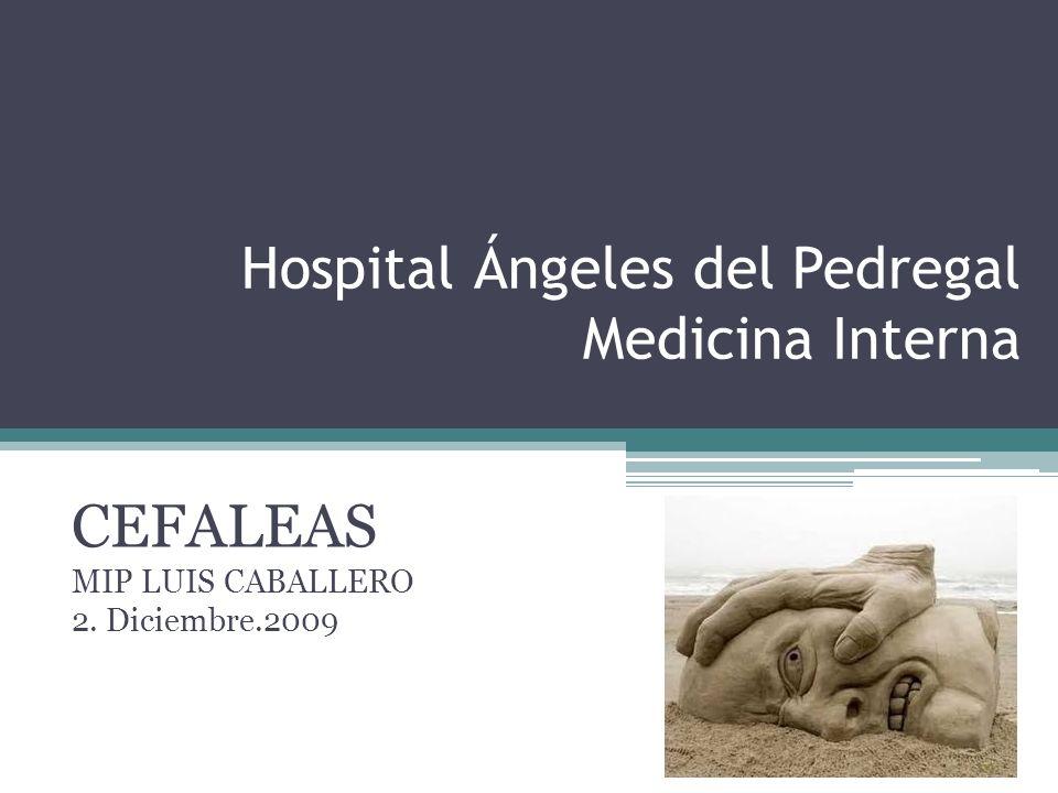Hospital Ángeles del Pedregal Medicina Interna