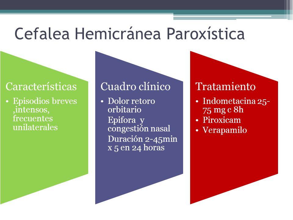 Cefalea Hemicránea Paroxística