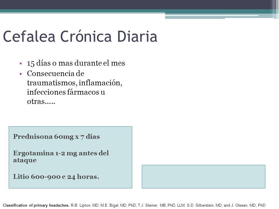 Cefalea Crónica Diaria