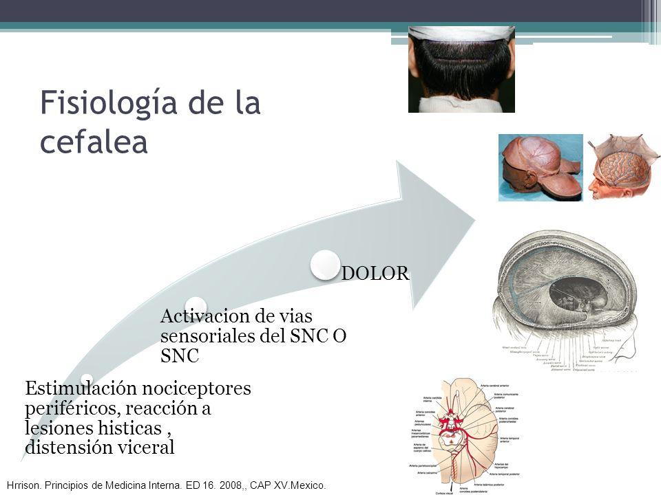 Fisiología de la cefalea