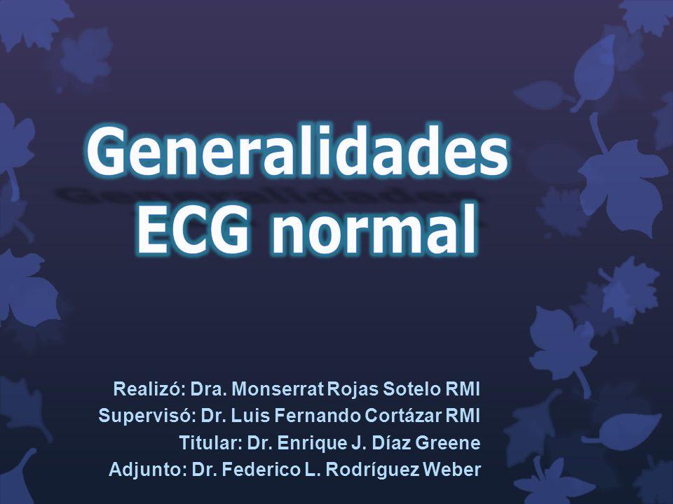 Generalidades ECG normal