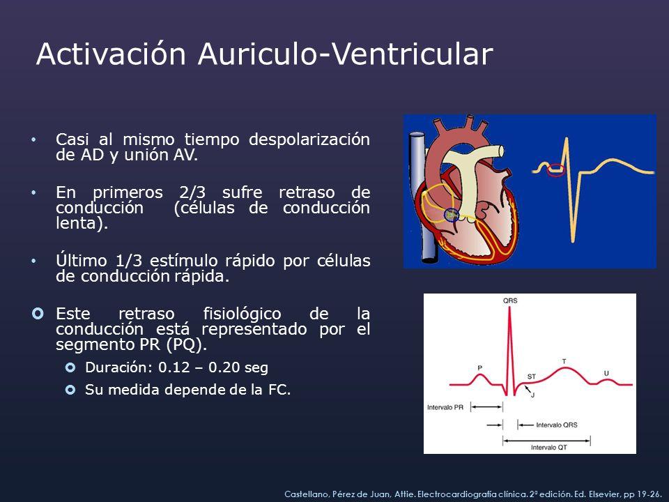 Activación Auriculo-Ventricular