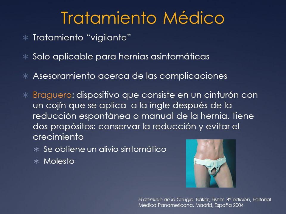 Tratamiento Médico Tratamiento vigilante