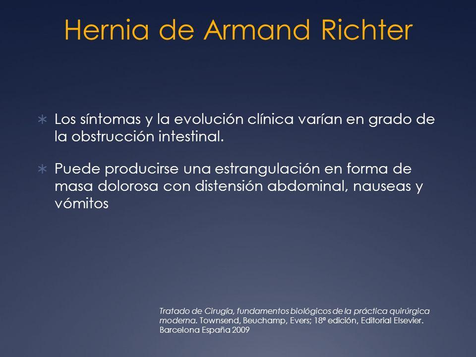 Hernia de Armand Richter