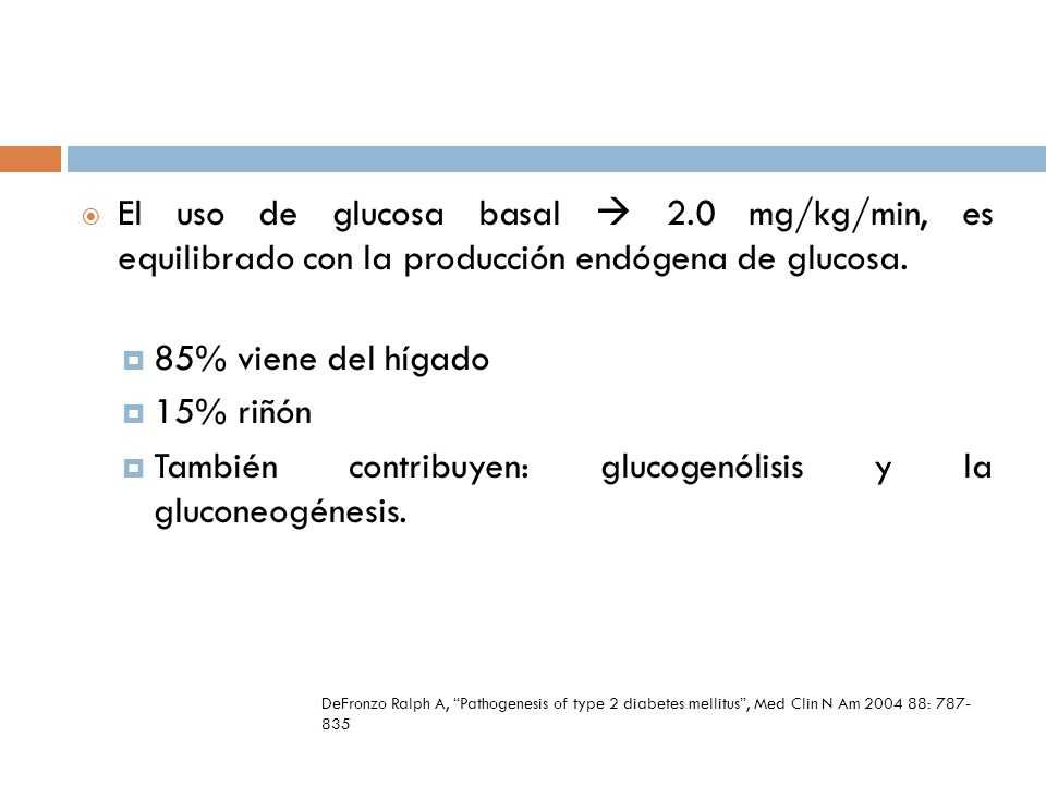 También contribuyen: glucogenólisis y la gluconeogénesis.
