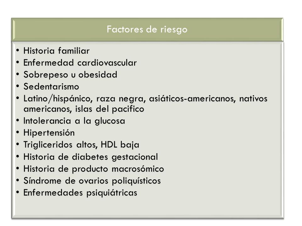 Factores de riesgo Historia familiar Enfermedad cardiovascular