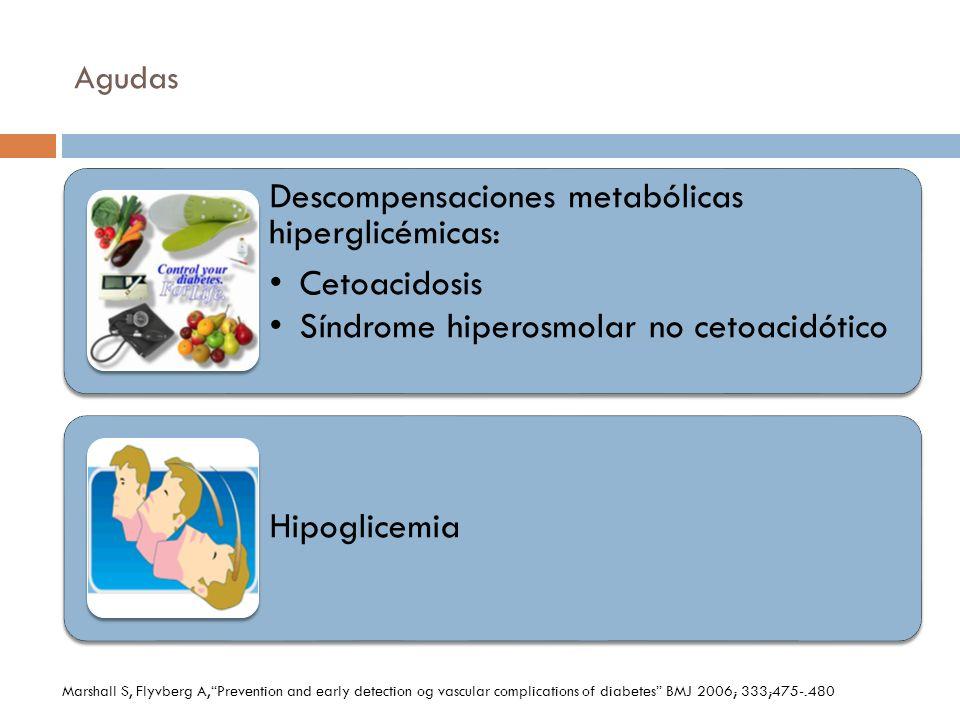 Descompensaciones metabólicas hiperglicémicas: Cetoacidosis