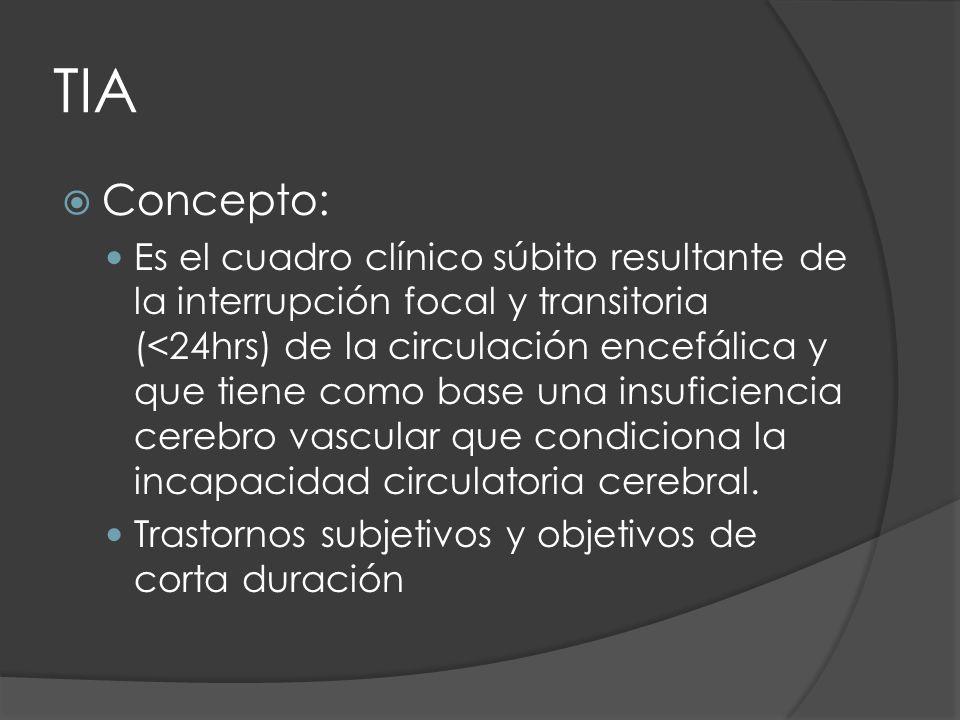 TIA Concepto: