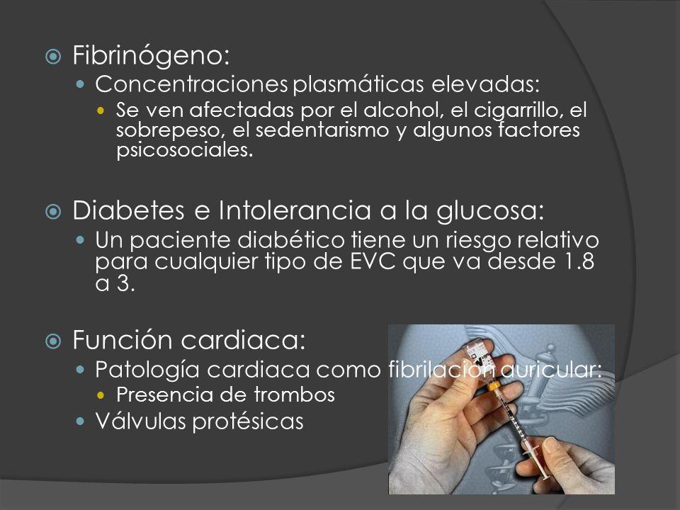 Diabetes e Intolerancia a la glucosa: