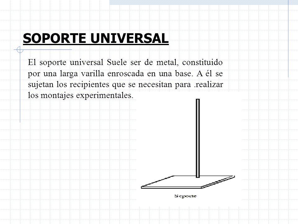 SOPORTE UNIVERSAL