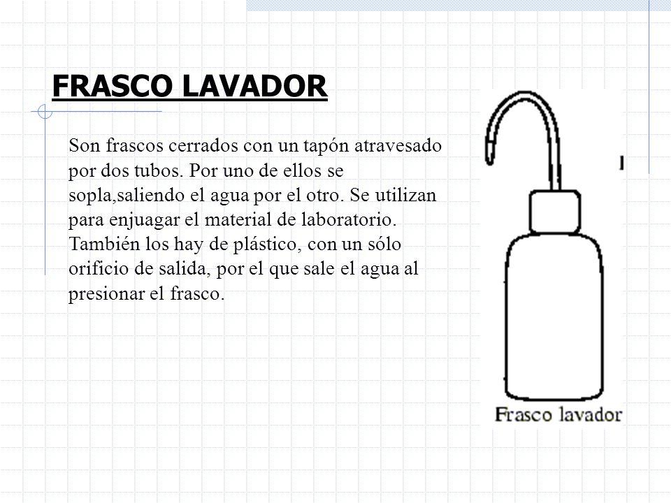 FRASCO LAVADOR