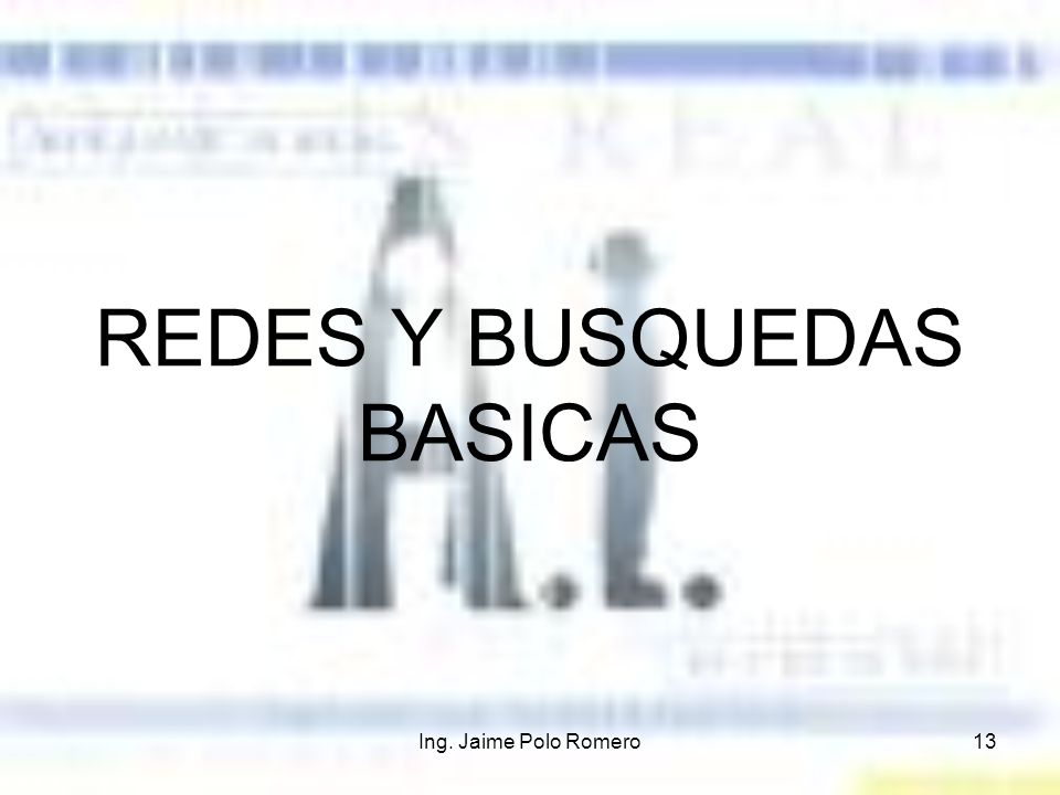 REDES Y BUSQUEDAS BASICAS