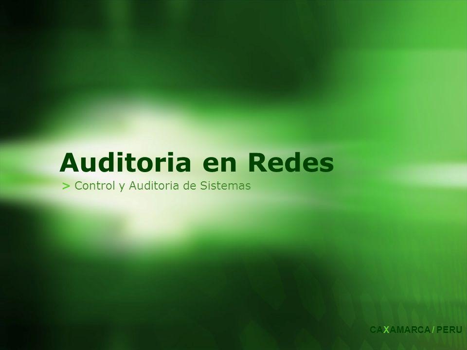 > Control y Auditoria de Sistemas