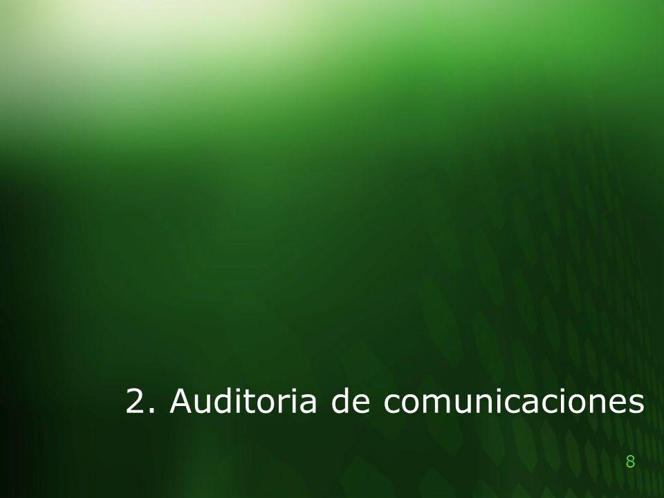 2. Auditoria de comunicaciones