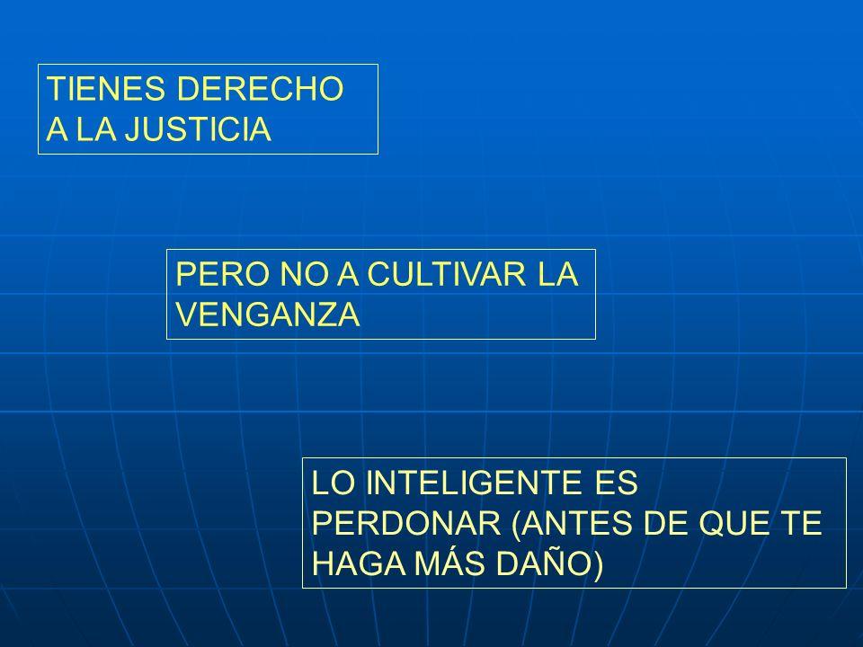 TIENES DERECHO A LA JUSTICIA