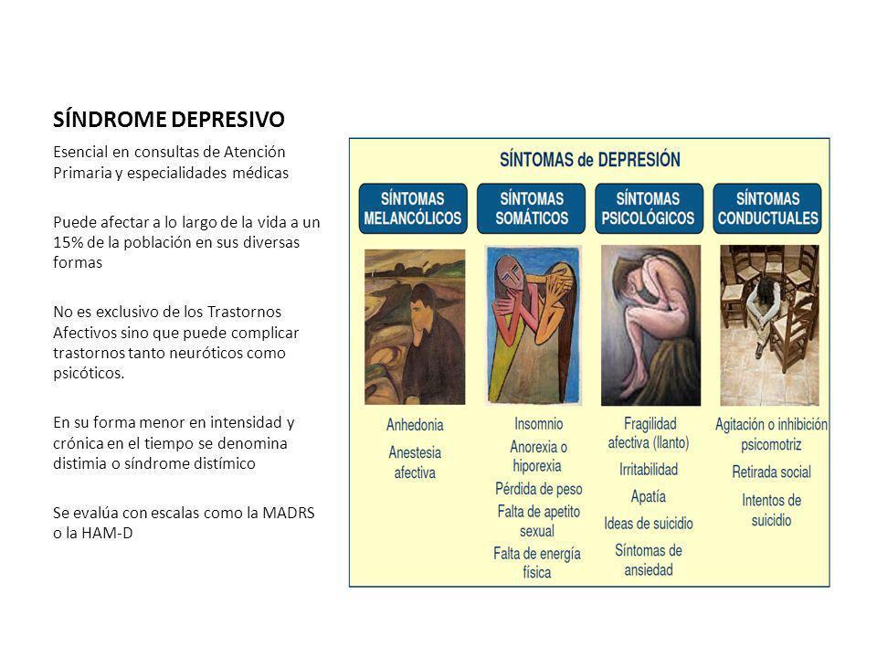 SÍNDROME DEPRESIVO Esencial en consultas de Atención Primaria y especialidades médicas.