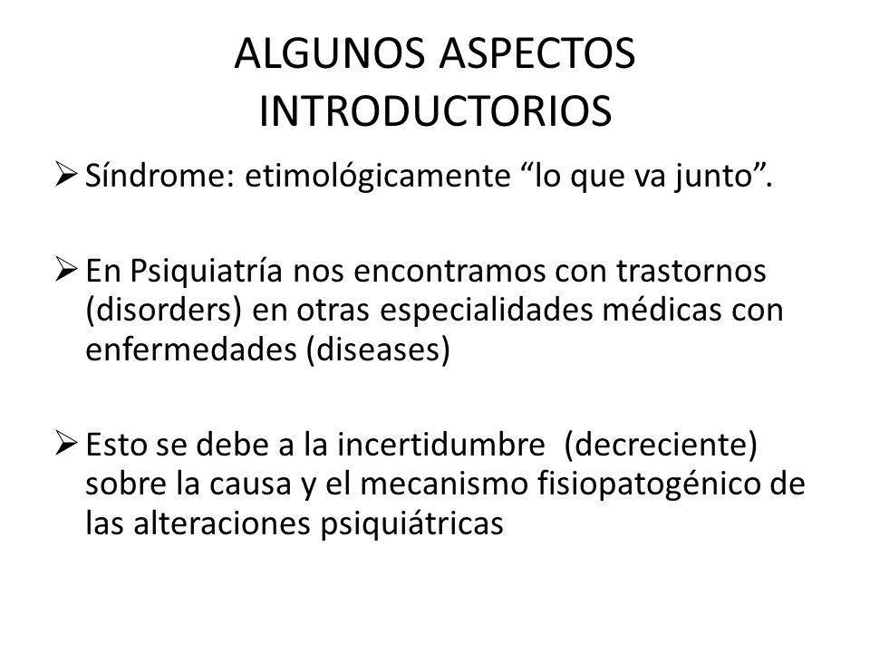 ALGUNOS ASPECTOS INTRODUCTORIOS