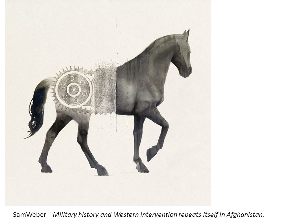 SamWeber MIlitary history and Western intervention repeats itself in Afghanistan.