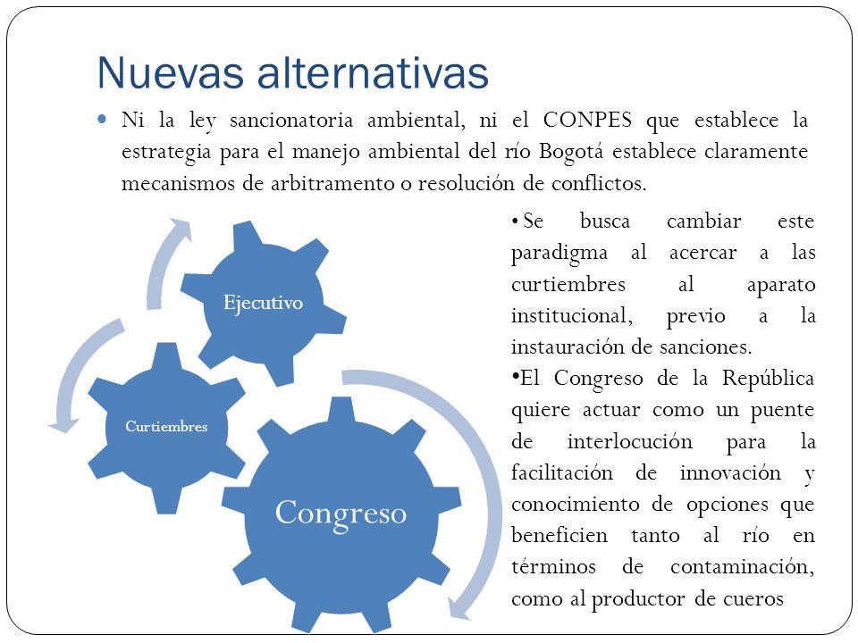 Nuevas alternativas Congreso