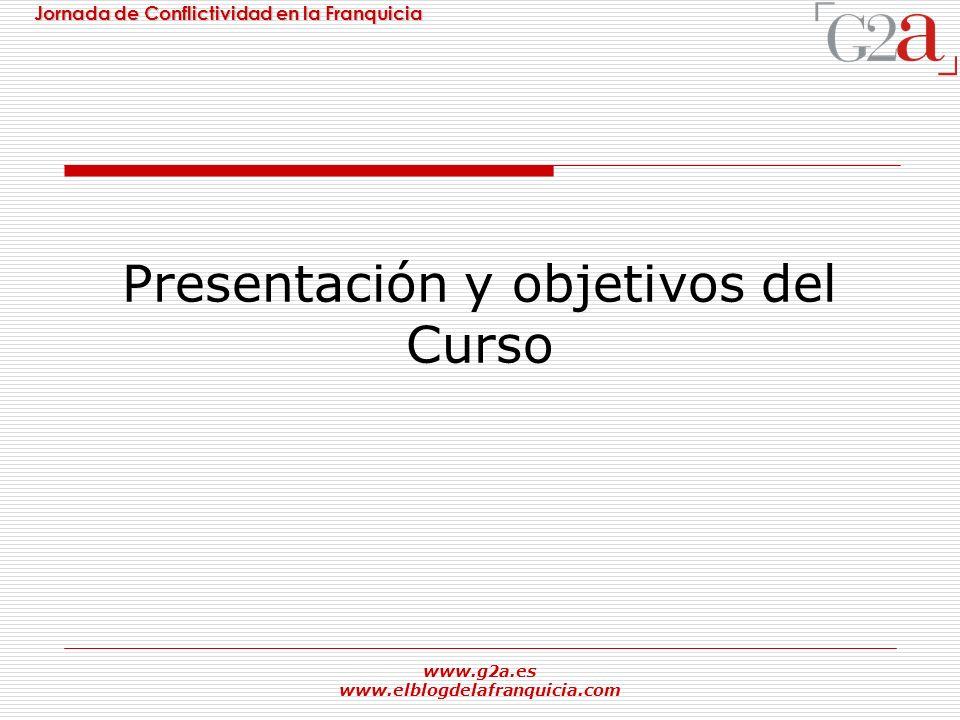 Presentación y objetivos del Curso