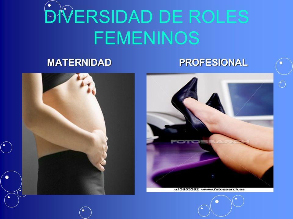 DIVERSIDAD DE ROLES FEMENINOS