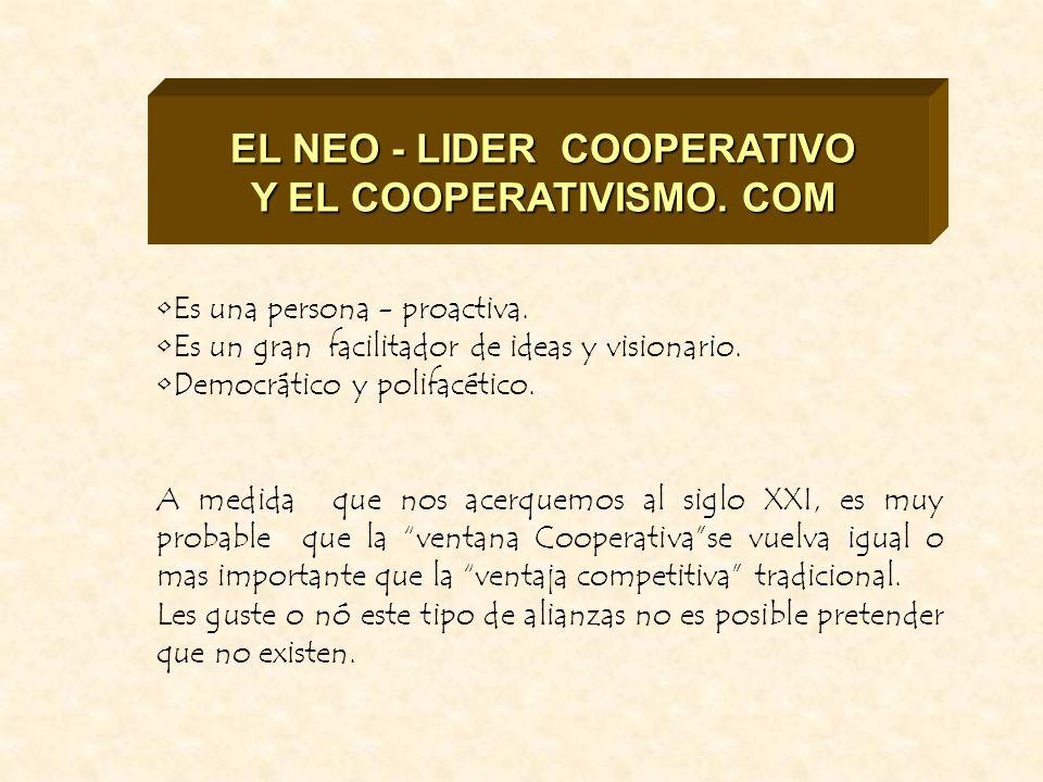 EL NEO - LIDER COOPERATIVO Y EL COOPERATIVISMO. COM