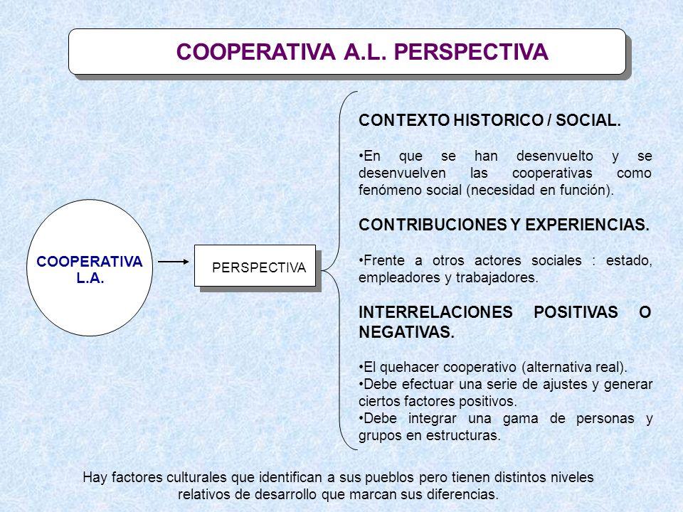 COOPERATIVA A.L. PERSPECTIVA