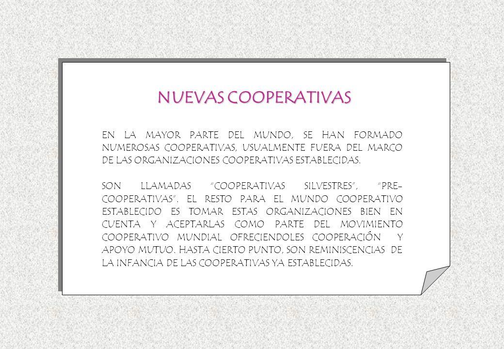 NUEVAS COOPERATIVAS