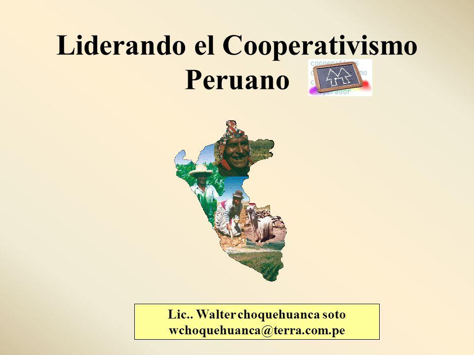 Liderando el Cooperativismo Peruano