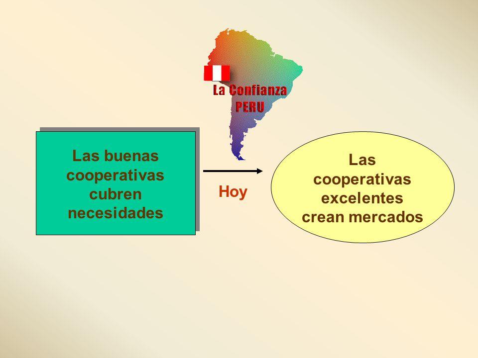 Las buenas cooperativas cubren necesidades