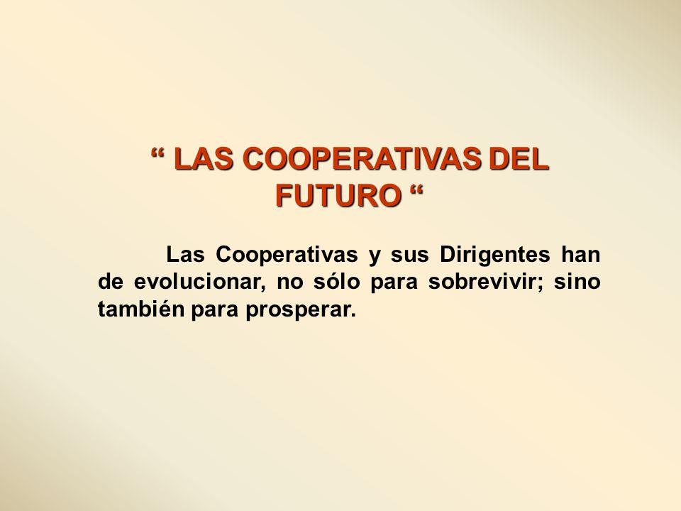 LAS COOPERATIVAS DEL FUTURO