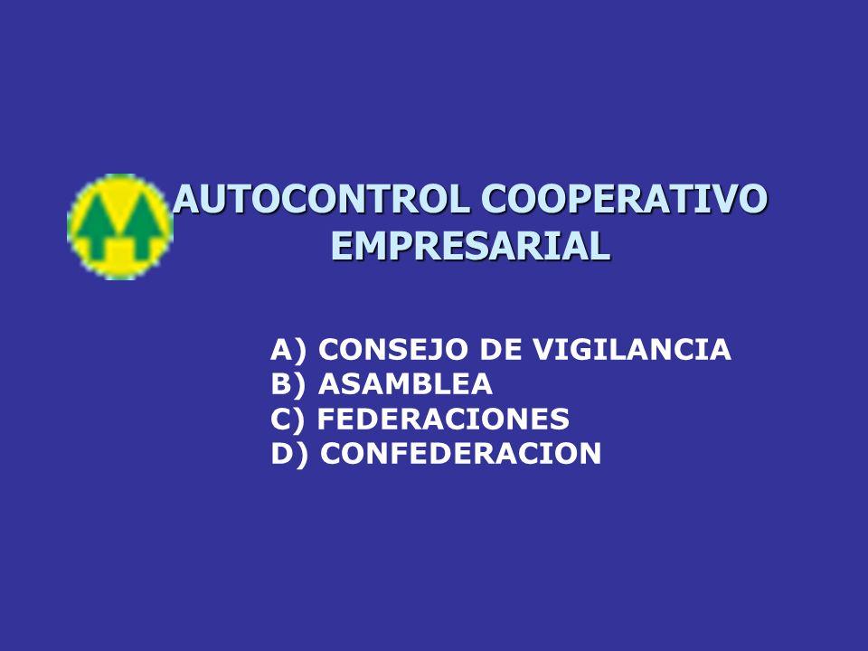 AUTOCONTROL COOPERATIVO EMPRESARIAL
