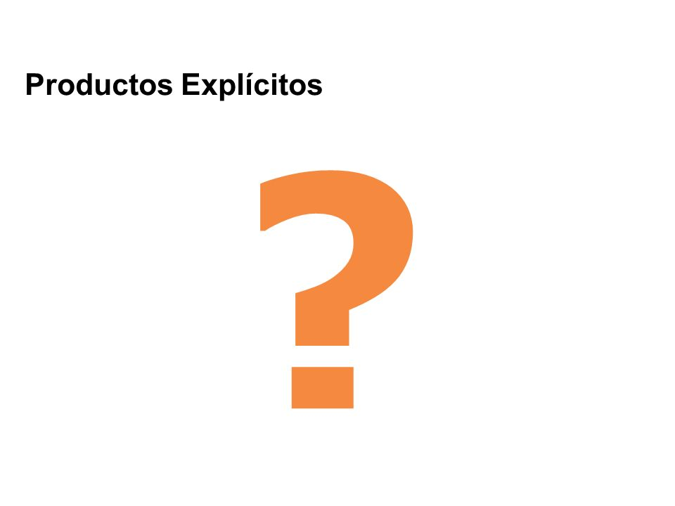 Productos Explícitos