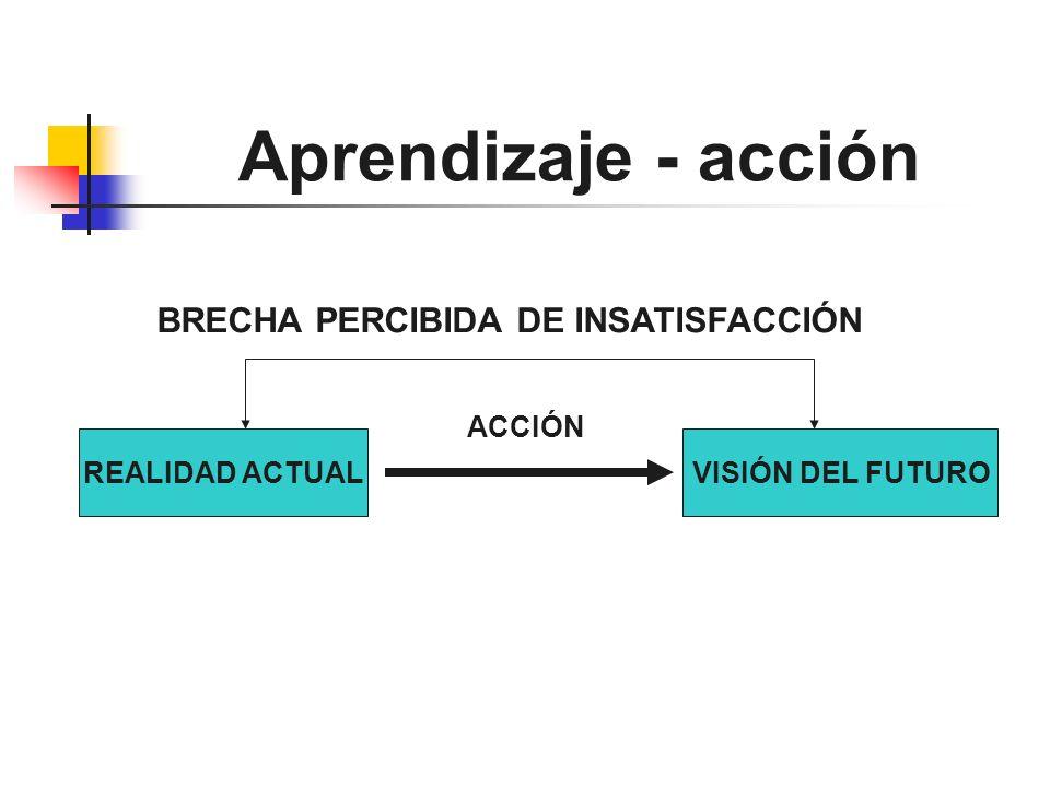 BRECHA PERCIBIDA DE INSATISFACCIÓN