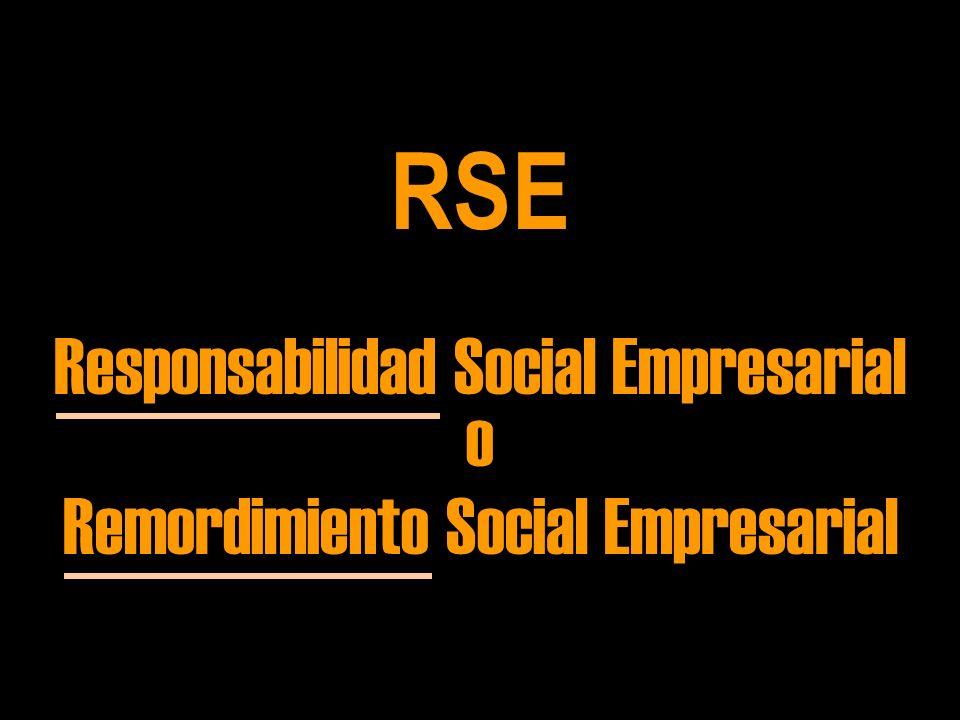 RSE Responsabilidad Social Empresarial o